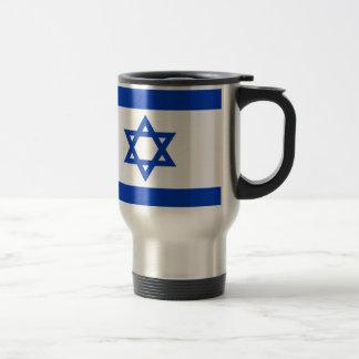 Low Cost! Israel Flag Travel Mug