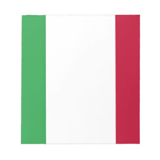 Low Cost! Italy Flag Notepad