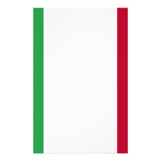 Low Cost! Italy Flag Personalised Stationery
