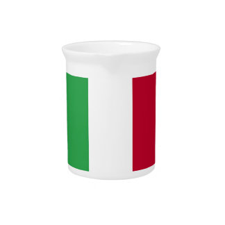 Low Cost! Italy Flag Pitcher