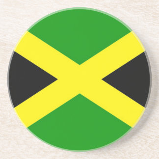 Low Cost! Jamaica Flag Coaster