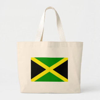 Low Cost! Jamaica Flag Large Tote Bag