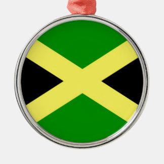Low Cost! Jamaica Flag Metal Ornament