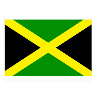 Low Cost! Jamaica Flag Postcard