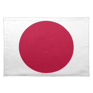Low Cost! Japan Flag Placemat