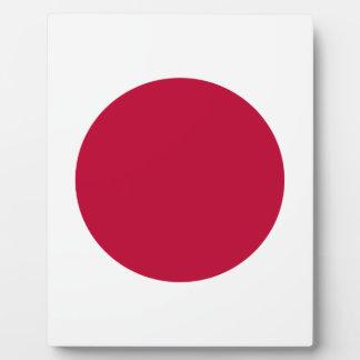 Low Cost! Japan Flag Plaque