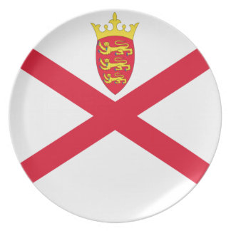 Low Cost! Jersey Flag Plate