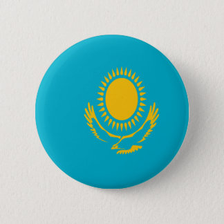 Low Cost! Kazakhstan Flag 6 Cm Round Badge