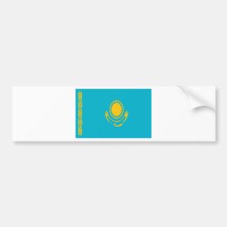 Low Cost! Kazakhstan Flag Bumper Sticker