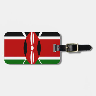 Low Cost! Kenya Flag Luggage Tag