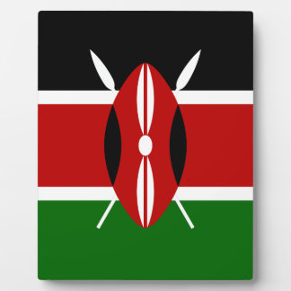 Low Cost! Kenya Flag Plaque