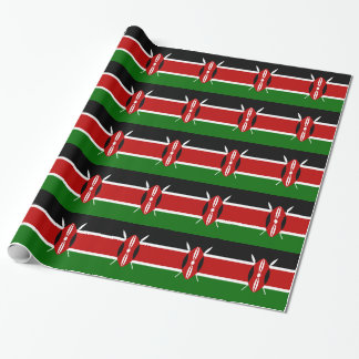 Low Cost! Kenya Flag Wrapping Paper