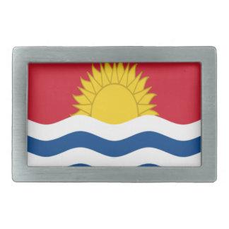 Low Cost! Kiribati Flag Belt Buckle