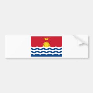 Low Cost! Kiribati Flag Bumper Sticker