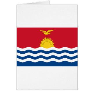 Low Cost! Kiribati Flag Card