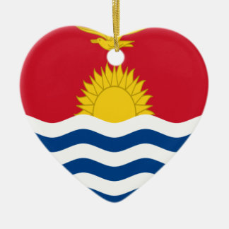 Low Cost! Kiribati Flag Ceramic Ornament