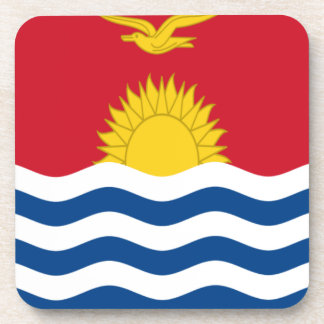 Low Cost! Kiribati Flag Coaster