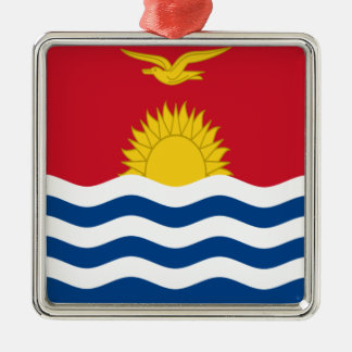 Low Cost! Kiribati Flag Metal Ornament