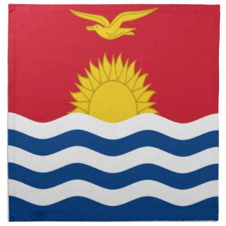 Low Cost! Kiribati Flag Napkin