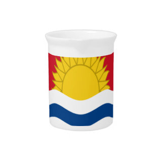 Low Cost! Kiribati Flag Pitcher