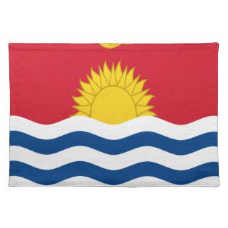 Low Cost! Kiribati Flag Placemat