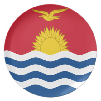 Low Cost! Kiribati Flag Plate