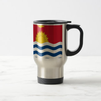 Low Cost! Kiribati Flag Travel Mug