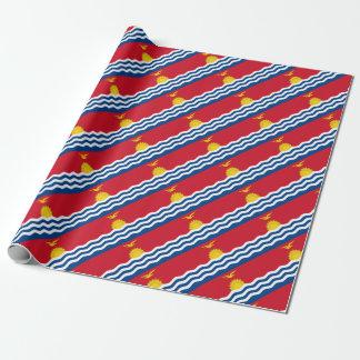 Low Cost! Kiribati Flag Wrapping Paper