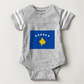 Low Cost! Kosovo Flag Baby Bodysuit