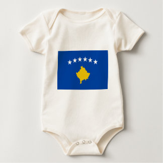 Low Cost! Kosovo Flag Baby Bodysuit
