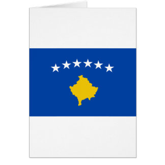 Low Cost! Kosovo Flag Card