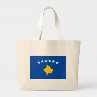 Low Cost! Kosovo Flag Large Tote Bag