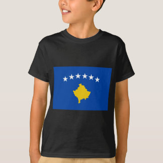 Low Cost! Kosovo Flag T-Shirt