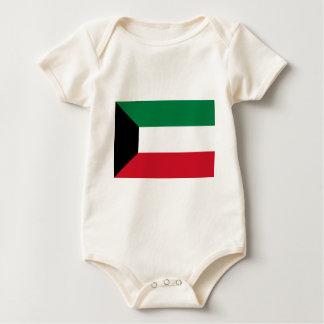 Low Cost! Kuwait Flag Baby Bodysuit