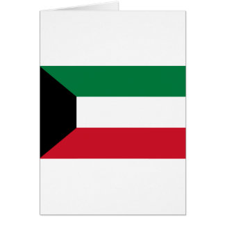 Low Cost! Kuwait Flag Card