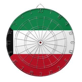 Low Cost! Kuwait Flag Dartboard