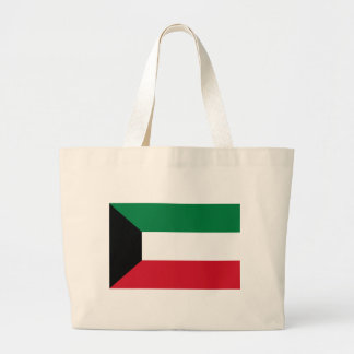 Low Cost! Kuwait Flag Large Tote Bag
