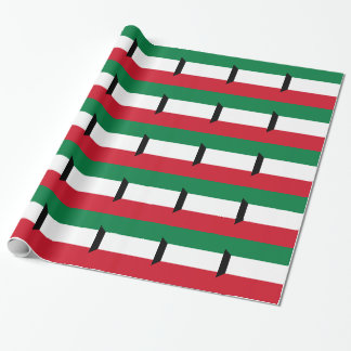 Low Cost! Kuwait Flag Wrapping Paper