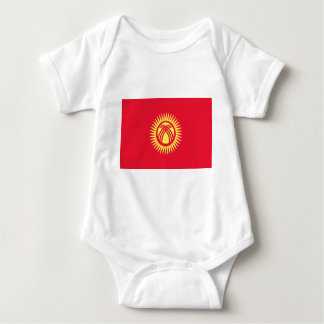 Low Cost! Kyrgyzstan Flag Baby Bodysuit