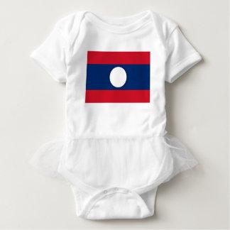 Low Cost! Laos Flag Baby Bodysuit