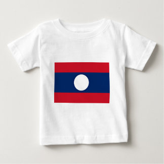 Low Cost! Laos Flag Baby T-Shirt