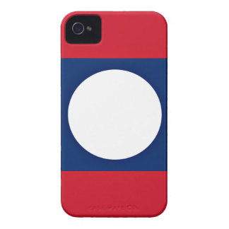 Low Cost! Laos Flag iPhone 4 Case-Mate Case