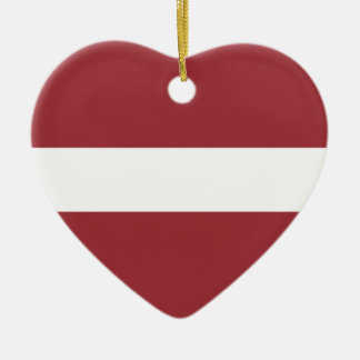 Low Cost! Latvia Flag Ceramic Heart Decoration
