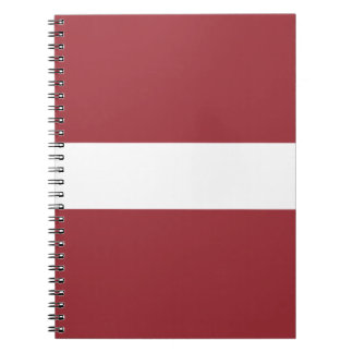 Low Cost! Latvia Flag Notebook