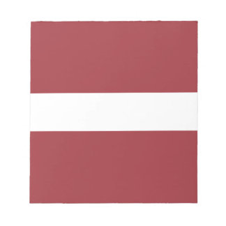 Low Cost! Latvia Flag Notepads