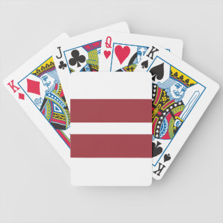 Low Cost! Latvia Flag Poker Deck
