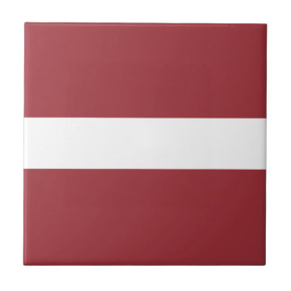 Low Cost! Latvia Flag Small Square Tile