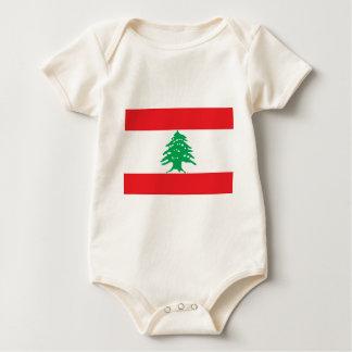 Low Cost! Lebanon Flag Baby Bodysuit