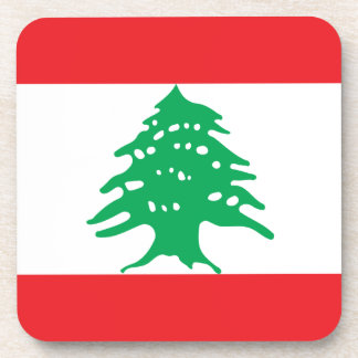 Low Cost! Lebanon Flag Coaster