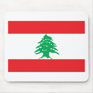 Low Cost! Lebanon Flag Mouse Pad
